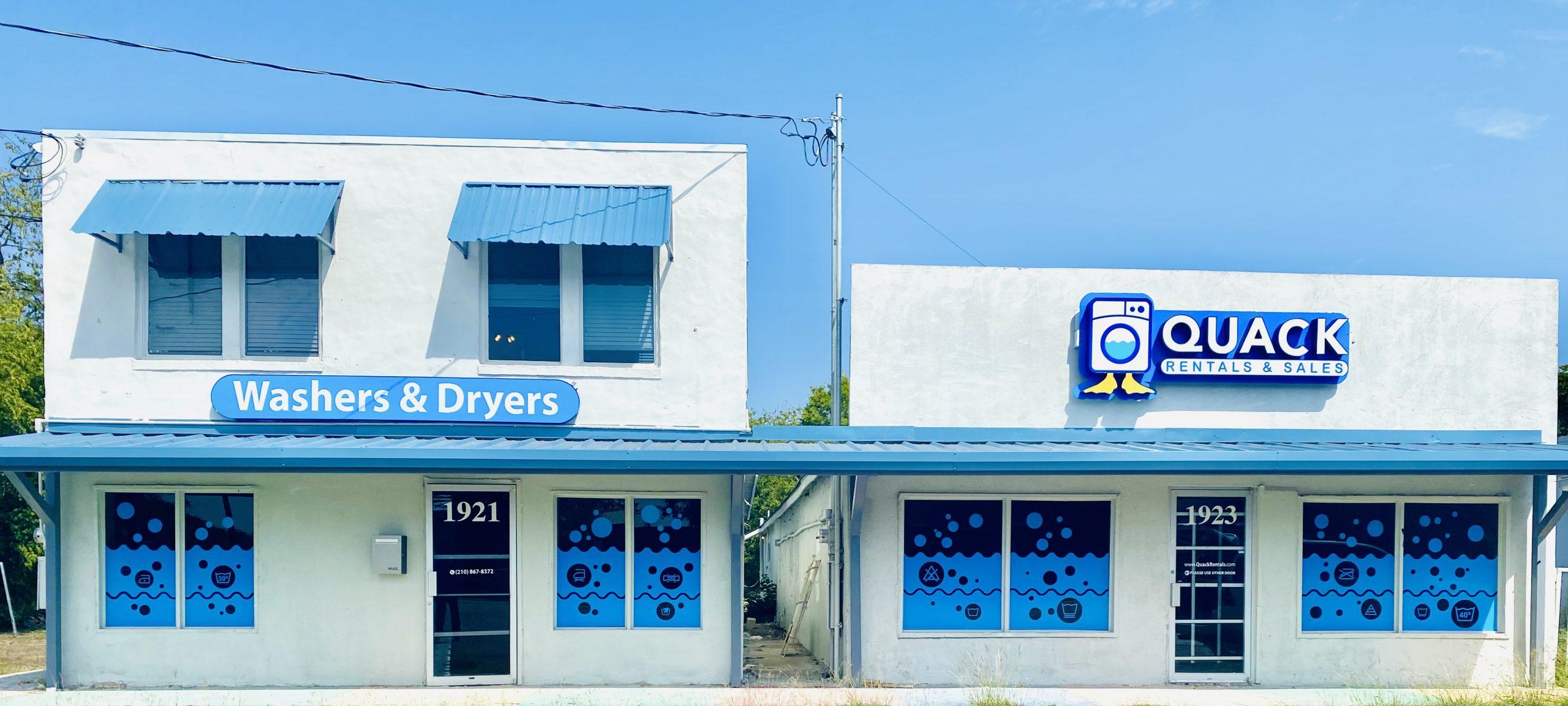 Quack Rentals Appliance Store San Antonio